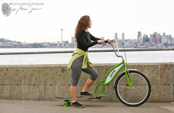 Commercial Photography for Conway Bikeboards in Hammacher Schlemmer