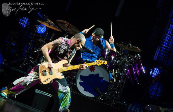 Flea and Chad Smith of Red Hot Chili Peppers RHCP