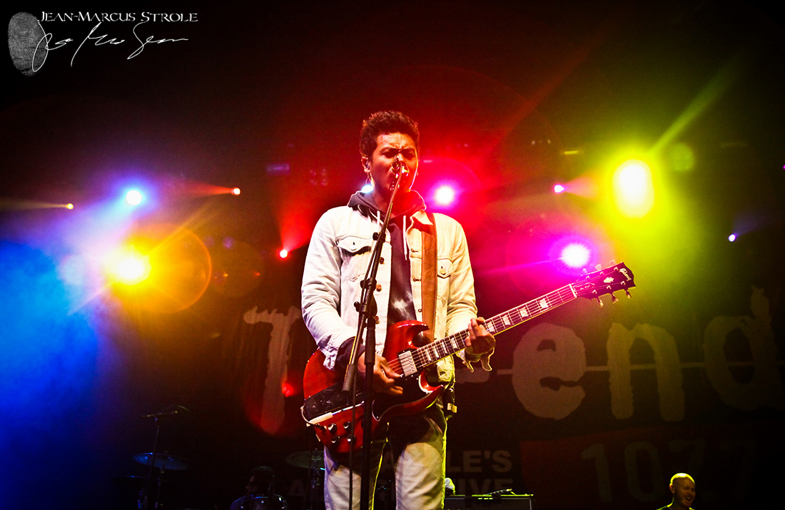 Dougy Mandagi of Temper Trap