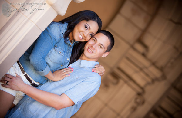 Balboa Park Engagement Photography in San Diego