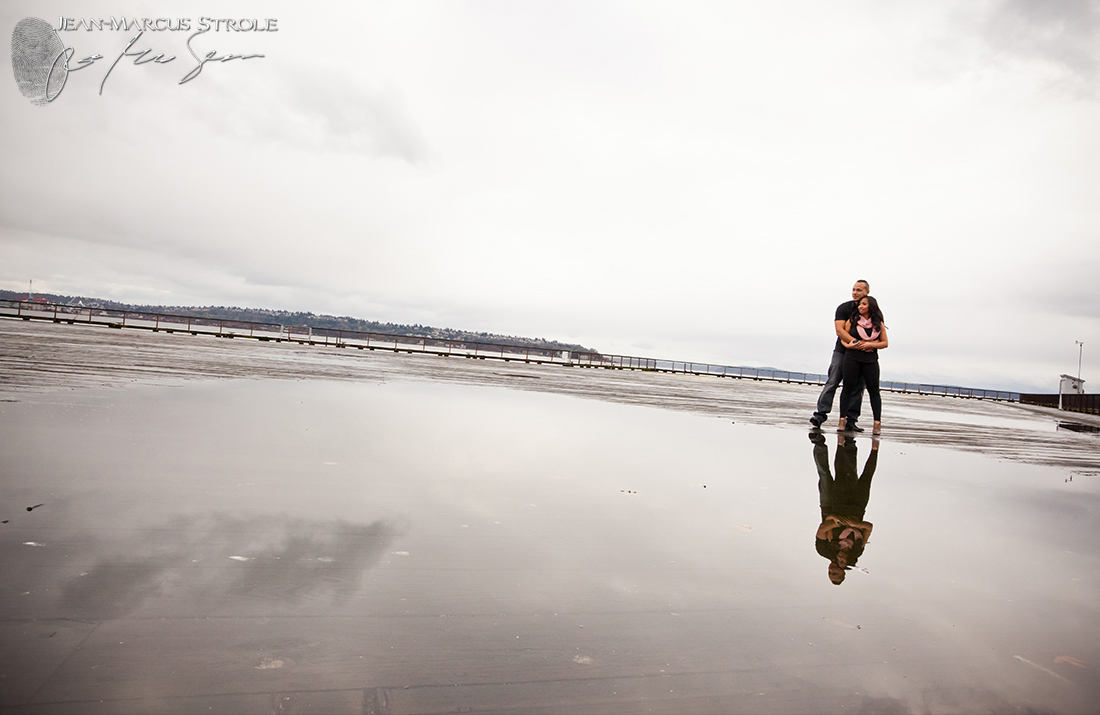 Seattle Pier Engagement Photography
