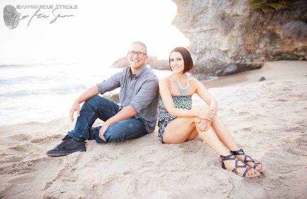 1000 Steps Engagement Photography in Laguna Beach