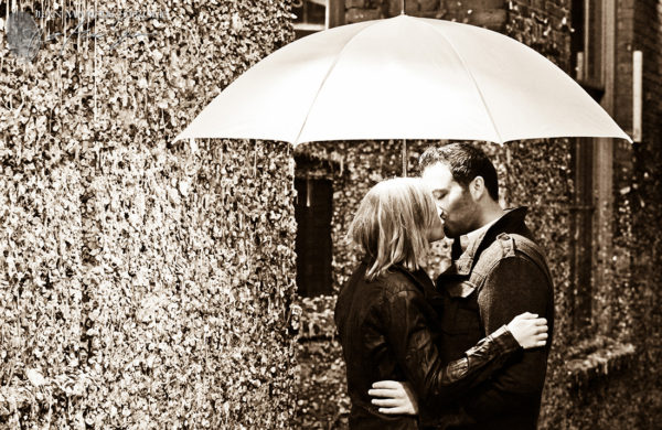 Seattle Gum Wall Engagement Photography