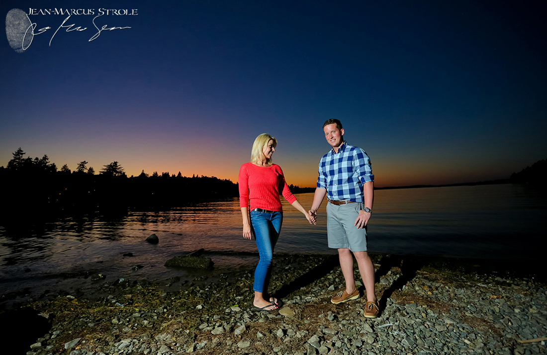 Seward Park Engagement Photography