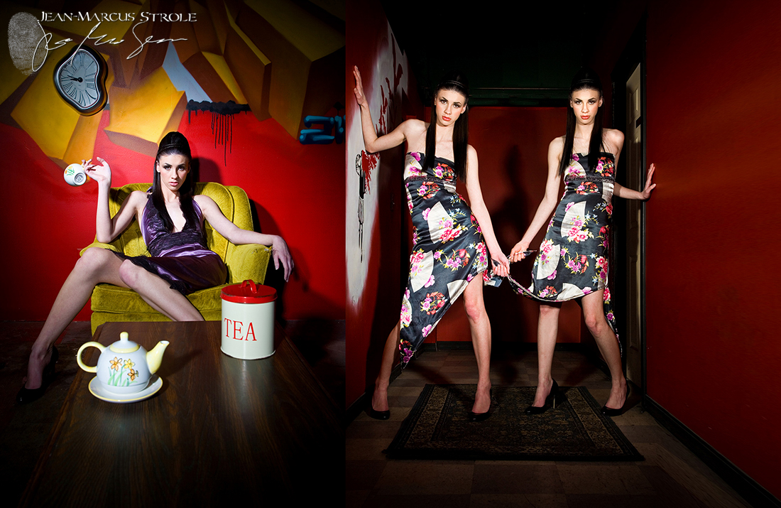 Alice In Wonderland Fashion Photography with Model Alyssa Cave