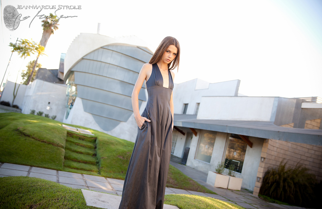 Fashion Photography in Los Angeles with Viktoria Belany wearing Bri Seeley Fashion