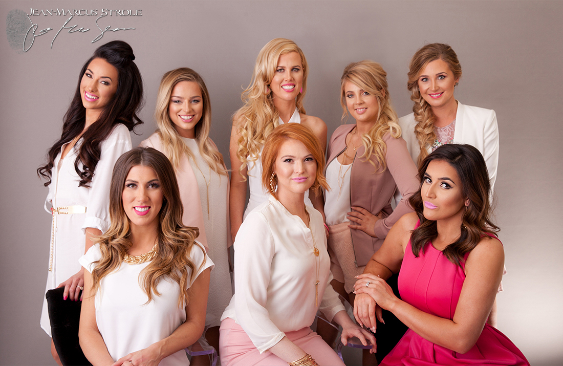 Promotional Studio Photography of Chromatique Salon