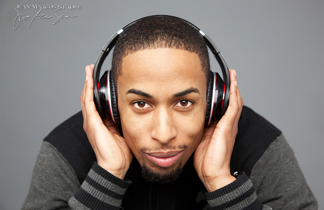 Promotional Studio Photography of Kel Anthony of Movin 92.5