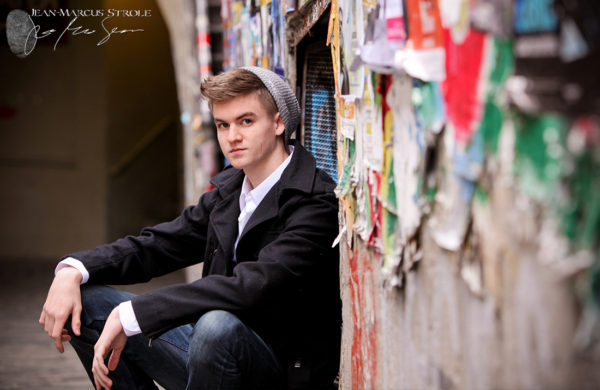 Senior Portrait Photography Post Alley