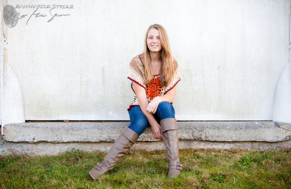 Senior Portrait Photography at Discovery Park
