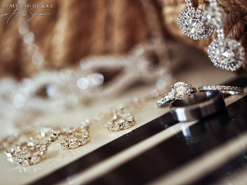 Bride and Groom's Wedding Jewelry