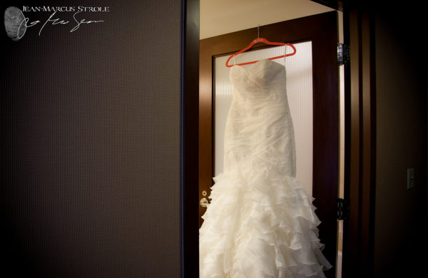 Brides Dress at Sheraton Hotel
