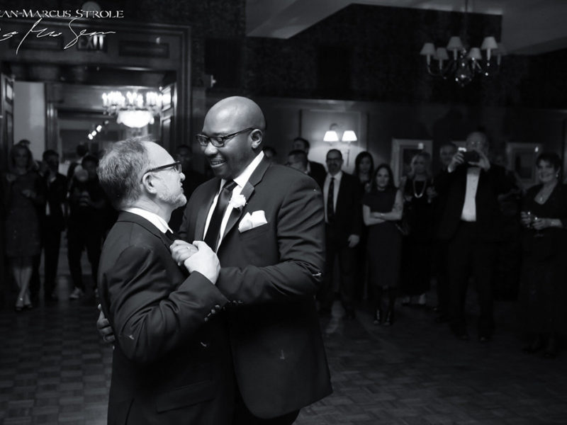 Two Groom's First Dance at The Rainier Club