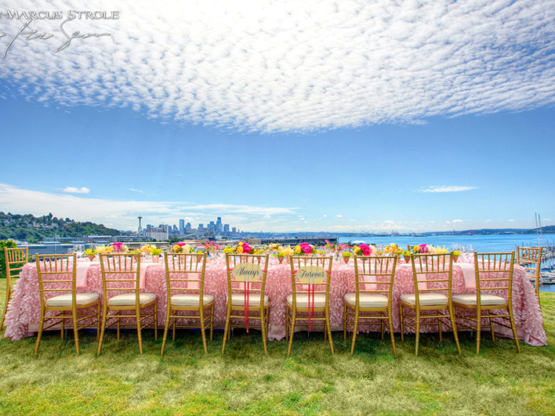 Wedding Party Table With a View at The Admiral House