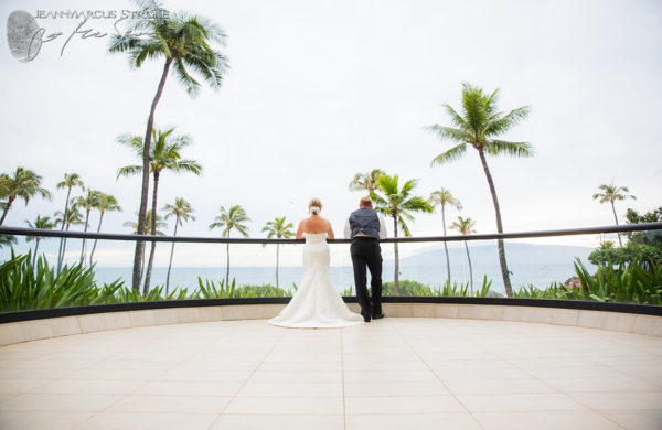 Maui Destination Wedding Photography of Bride and Groom