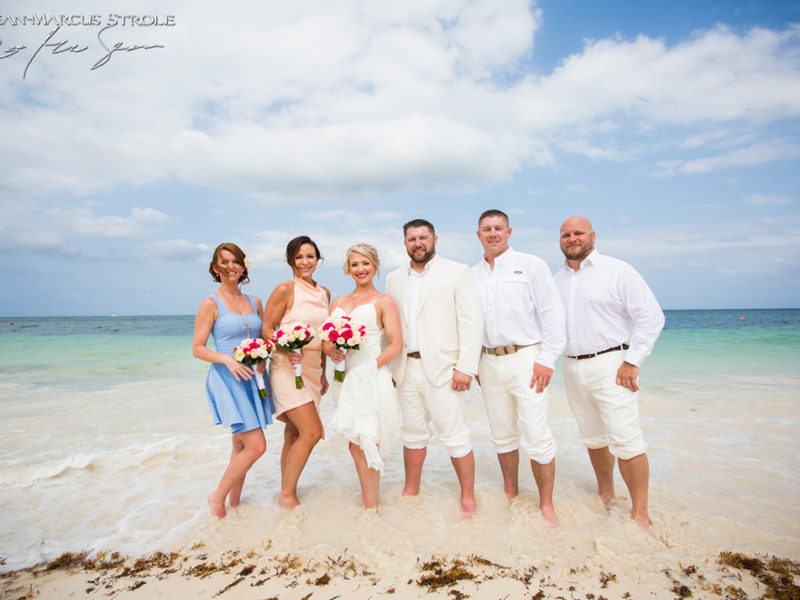Destionation Wedding Photography at Now Sapphire Riviera Cancun