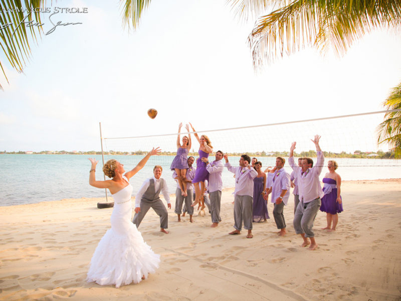 Destination Wedding Photography at Chabil Mar Resort in Belize