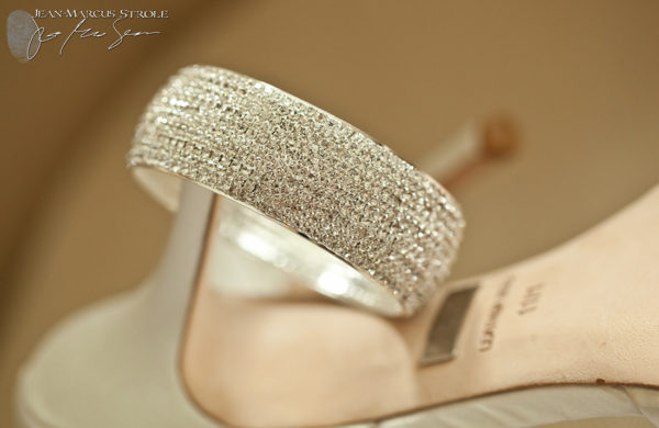 Wedding Photography Detail of Bride's Bracelet