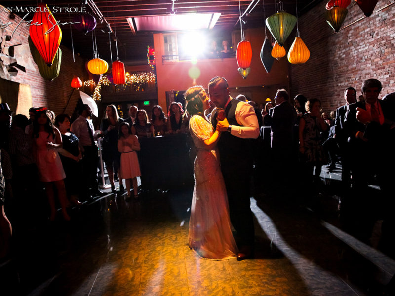 Bride and Groom's First Dance at The Georgetown Ballroom