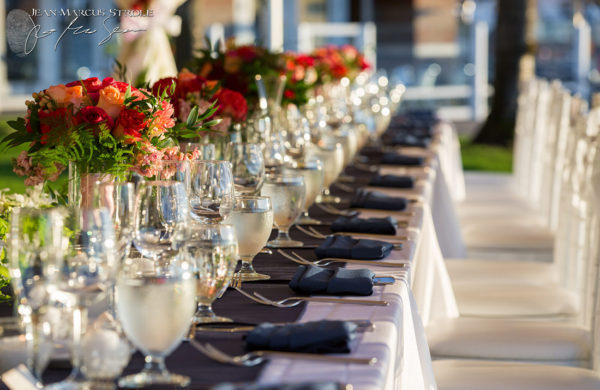 Wedding Party Table at Woodmark Hotel