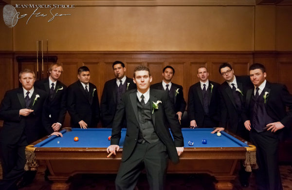 Groomsmen at the Arctic Club Seattle