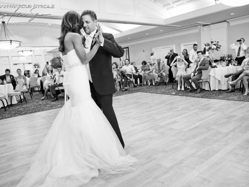 First Dance Wedding Photography at Newcastle